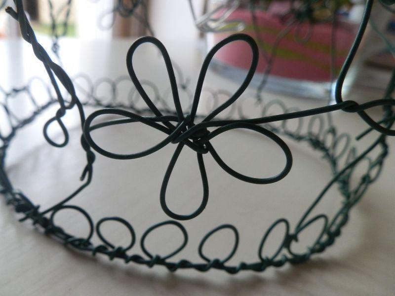 L'artisanat des objets en fil de fer